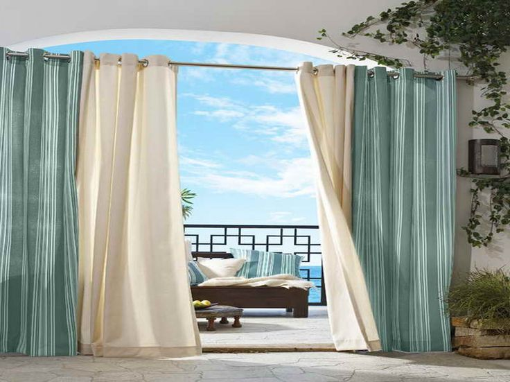 outdoor patio curtains ideas | patio ideas and patio design - Patio Curtains Ideas