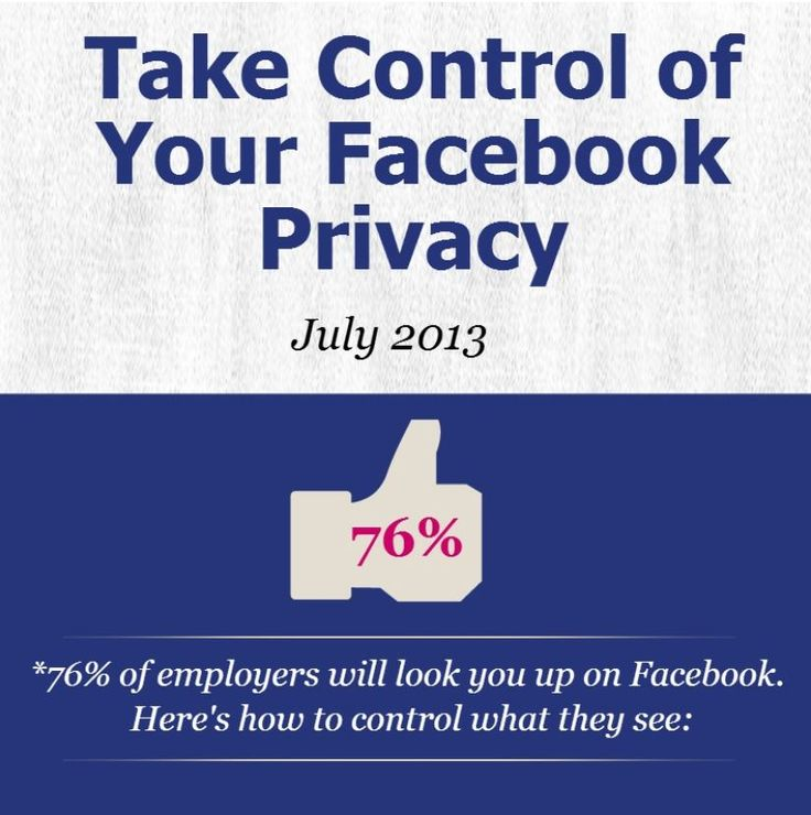 #Facebook privacy is important for job-seekers. Find out more about keeping your profile safe.
