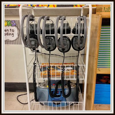 Teaching With Love and Laughter: Listening Station Organization
