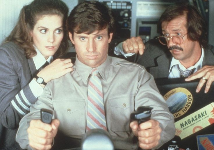 "Robert Hays, ""Airplane 2"""