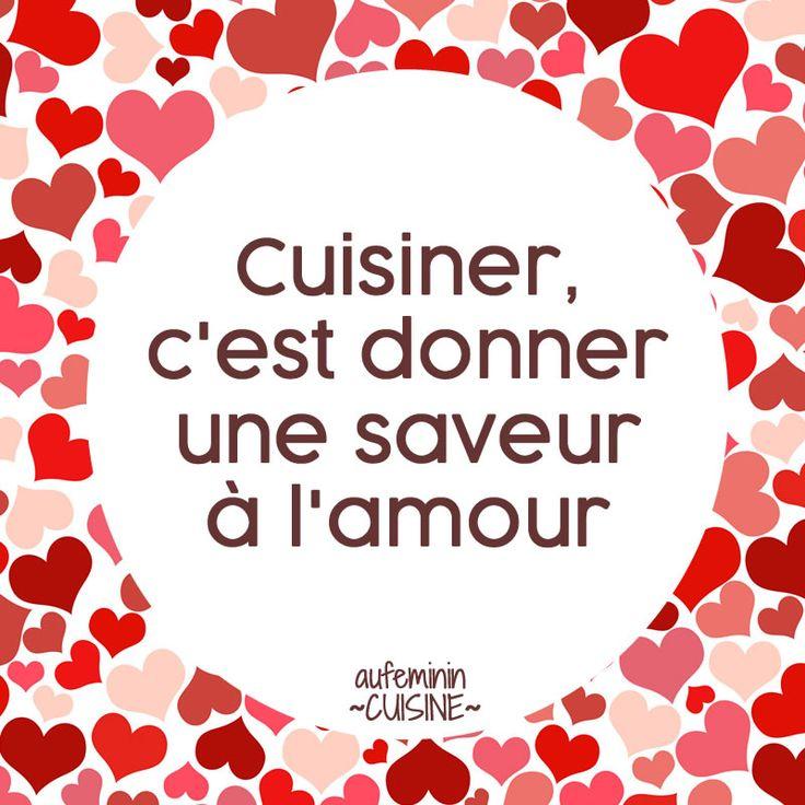 Les 25 meilleures id es de la cat gorie citation cuisine - Video amour dans la cuisine ...
