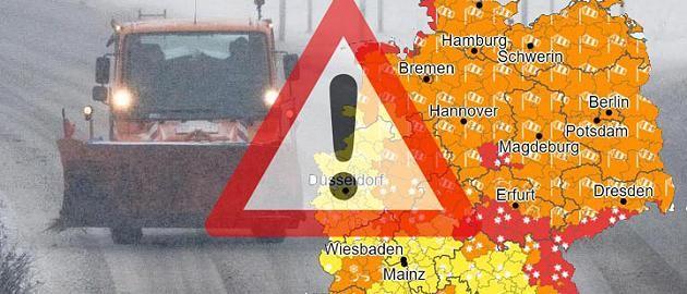 -20 Grad und 30 Zentimeter Neuschnee: Wetterdienst spricht zweithöchste Warnstufe aus