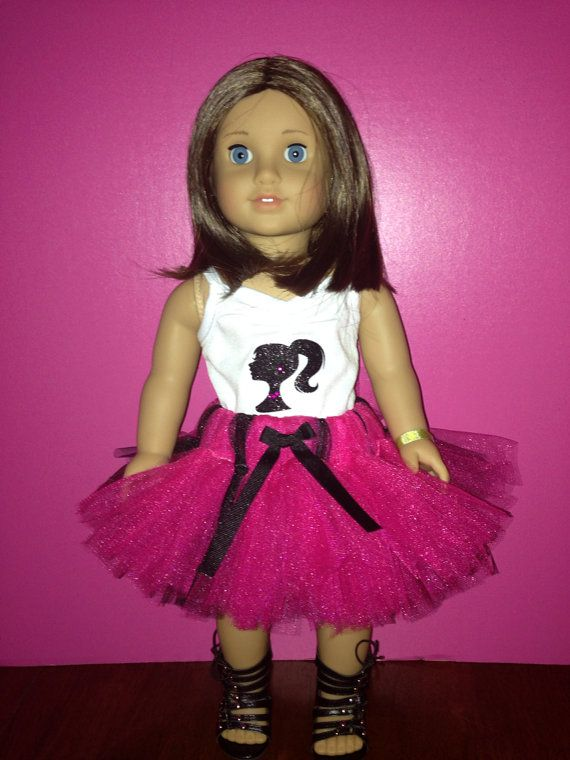 American Girl Doll Bitty Baby  Barbie Shirt by TheFancyButterfly, $10.00