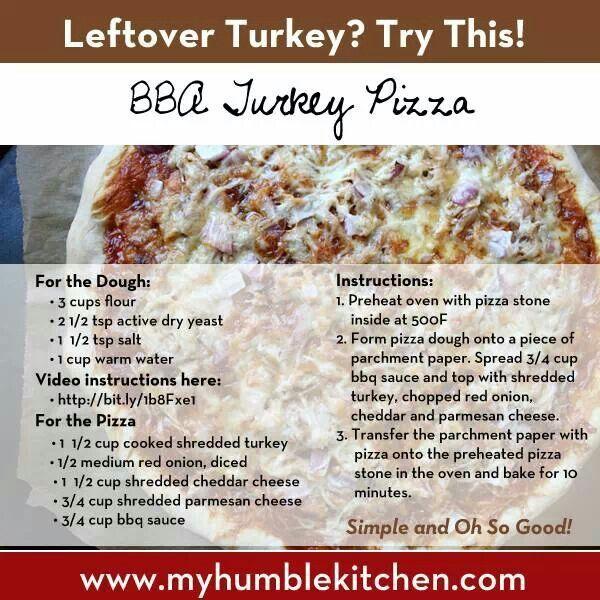 BBQ Turkey Pizza!! | @the holiday inn | Pinterest