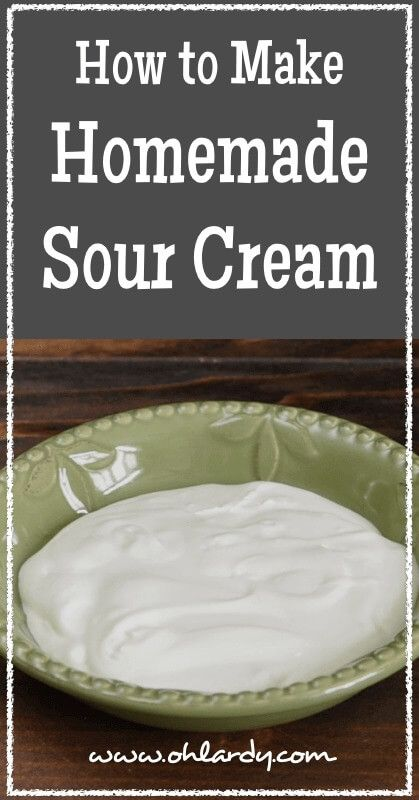 how to make whole milk with sour crean