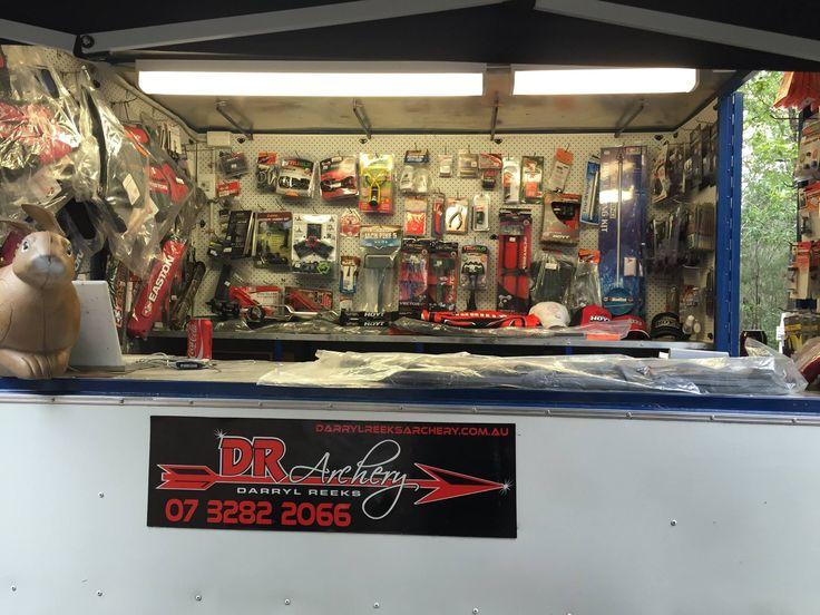 Our merchandise van!