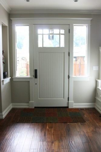door: Favorite Places, Dark Wood Floors, Creamy Light, Doors Door Ways Windows, Way Front Doors