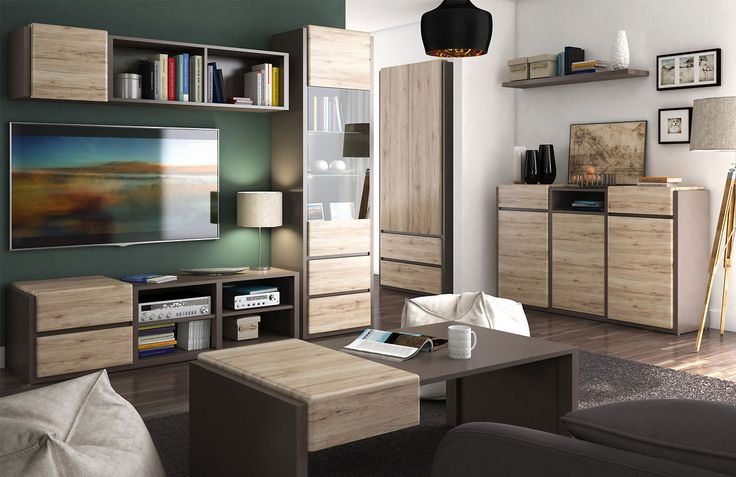 Novinka v našej ponuke - kolekcia Author  #novinka #obyvacka #interior #furniture #design #new #blackredwhite