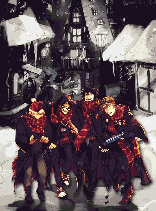 Idk... nuts about Marauder Fan Art at the moment... JK Rowling needs to make a prequel...