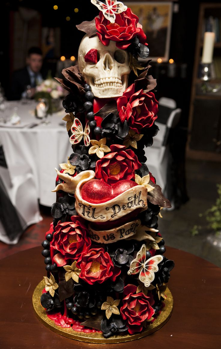 Crazy Valentine's cakes from Choccywoccydoodah!