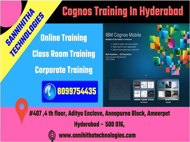 Cognos Training In Hyderabad Cognos Online Training Online Training Train Corporate Training