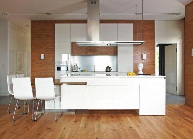 25 best ideas about cuisine blanc laqu on pinterest - Meuble de cuisine blanc laque ...