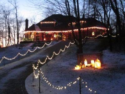 112 best images about it s beginning to look a lot like on yard felt