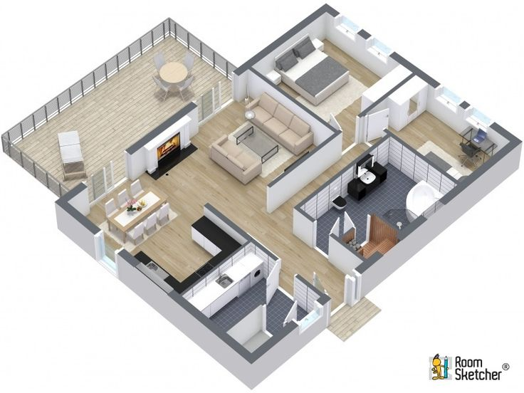 184 best Real Estate Floor Plans images on Pinterest | Floor plans ...