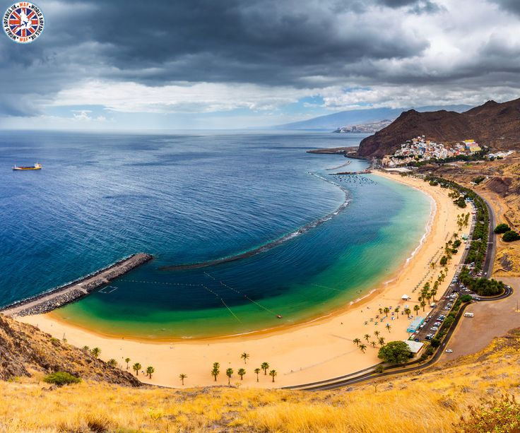 Playa de Las Teresitas, Spain  |  The Playa de Las Teresitas is a beach north of the village of San Andrés municipality of Santa Cruz de Tenerife in Tenerife, Spain.  |  Call Us Now: 0203 515 0801  |  #spain #playadelasteresitas #worldairfares #travelagentsinuk