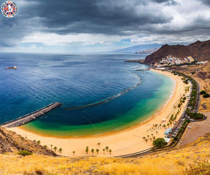 Playa de Las Teresitas, Spain     The Playa de Las Teresitas is a beach north of the village of San Andrés municipality of Santa Cruz de Tenerife in Tenerife, Spain.     Call Us Now: 0203 515 0801     #spain #playadelasteresitas #worldairfares #travelagentsinuk