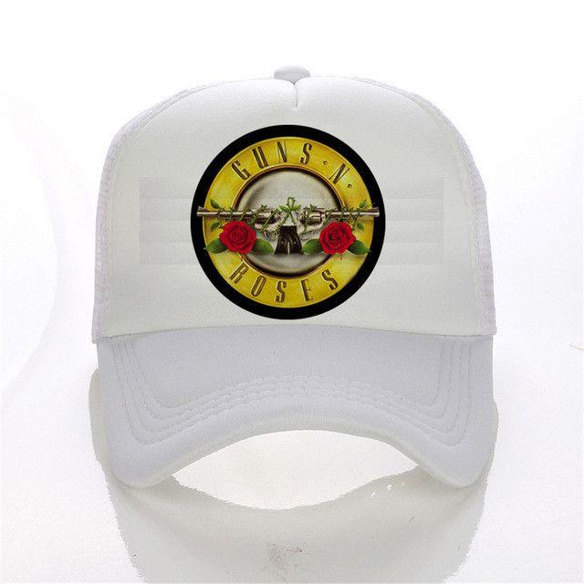 cap print shirts guns roses zeppelin the baseball men hip hop black beatles hat