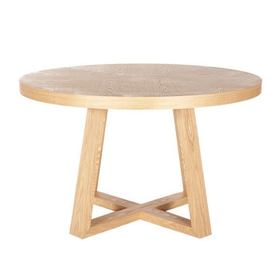 Image Result For Round Table Timber Base Wooden Dining Tables Glass Round Dining Table Circular Dining Table