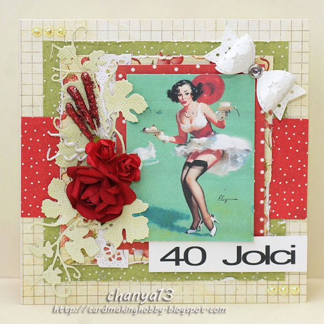 Cardmaking blog: Szalona 40.