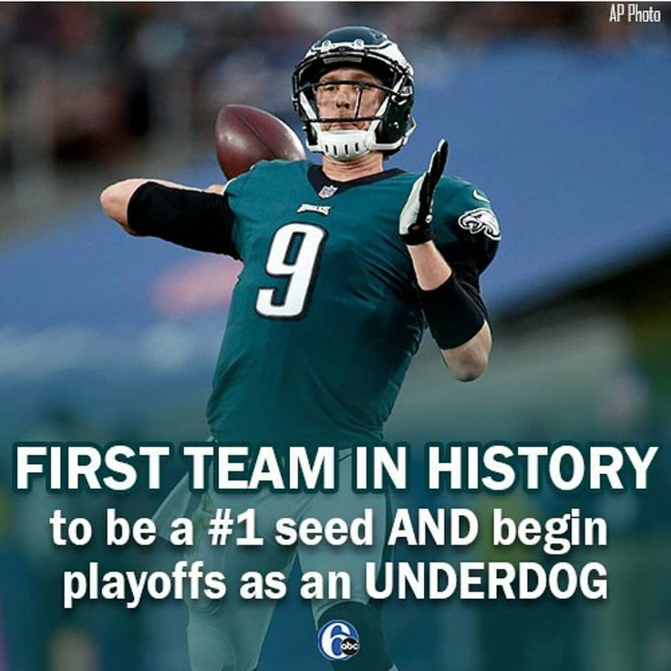 We're not the underdogs! We are number ONE!