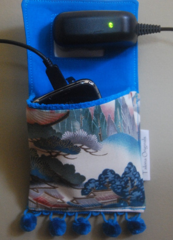 ipod itouch Cell Phone Charging Station  Asian Vivid by talona, $19.00