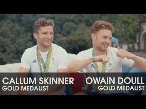 DFS | Team GB | Callum Skinner and Owain Doull take on the #FlipIt chall...
