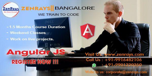 REGISTER NOW for #AngularJS this weekend 1st & 2nd July 2017 @ Koramangala 4th Block, Bangalore, #Bengaluru India. CALL +91 9916482106 or WhatsApp +91 9901220350 to register.