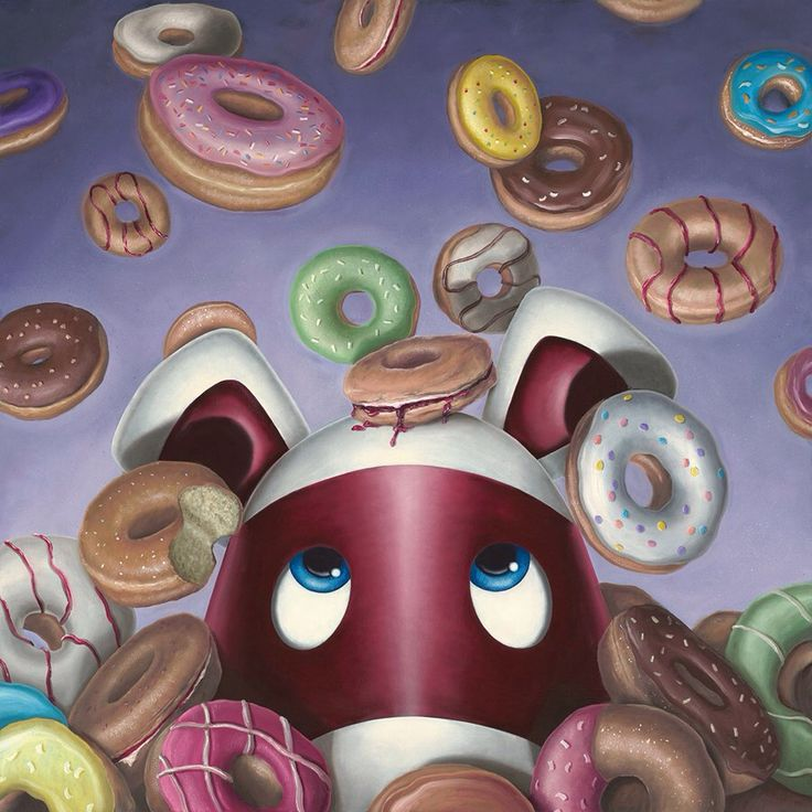 'Donut Worry, Be Happy' new release for 2016 #impossimals #donut #bake
