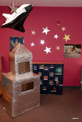 Tippytoe Crafts: Dramatic Play: Mission to Space