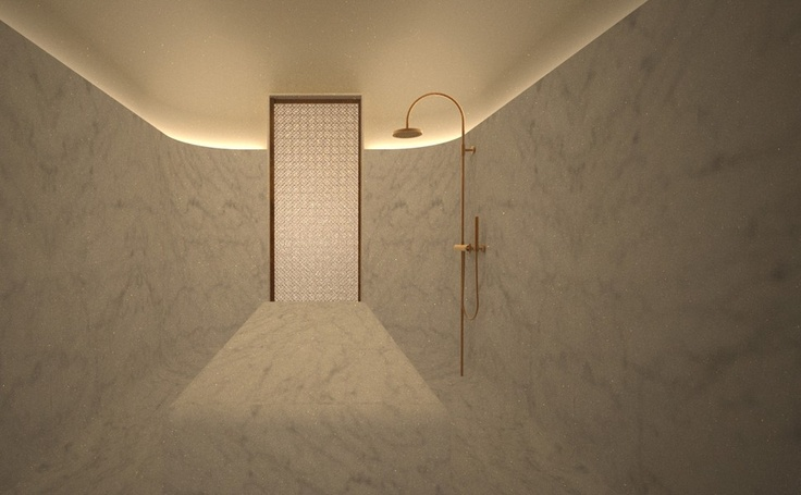 Akasha Holistic Wellbeing Centre | Café Royal Hotel, London #travel #spa #designed by David Chipperfield