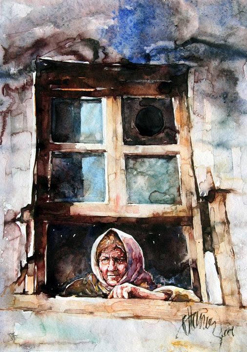 Painting By Atanur Doğan TÜRKİYE