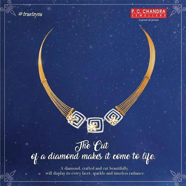 Indian Gold Necklace By Pc Chandra Puregoldjewellery Gold Jewellery Design Necklaces Diamond Jewelry Necklace Pure Gold Jewellery