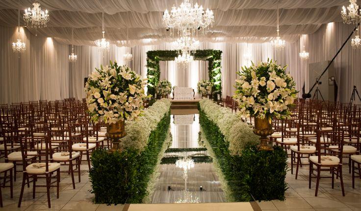 Passarela de Espelho: deslumbrando a decoração de casamento | Noivas do Brasil