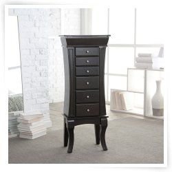 Find This Pin And More On Large Floor Standing Jewelry Box Cabinet.