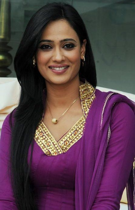 Shweta Tiwari is an Indian film and television actress. Her date of birth is March 25, 1974 and birth place is Pratapgarh, India. She has an older sibling, Nidhaan Tiwari. She started her acting career in 2001 when she made her debut appearance in the TV serial Kasautii Zindagii Kay by playing the role of Prerna Sharma–Basu/Bajaj.
