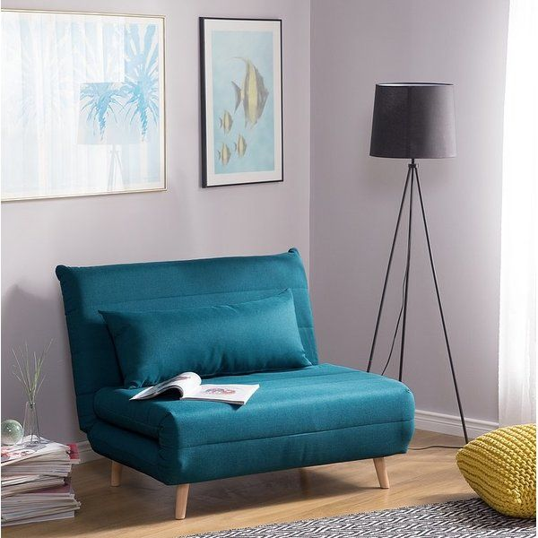 Blume Sleeper Fabric Sofa Sofa Bed Blue Fabric Sofa Bed