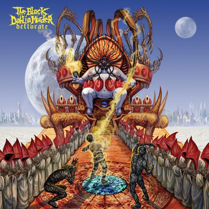 The Black Dahlia Murder - Deflorate (2009) - Melodic Death Metal - Detroit, MI