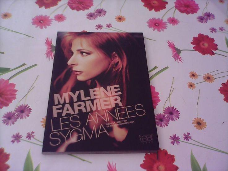 RARE Les années Sigma Mylène Farmer grand format photos TEAR PROD