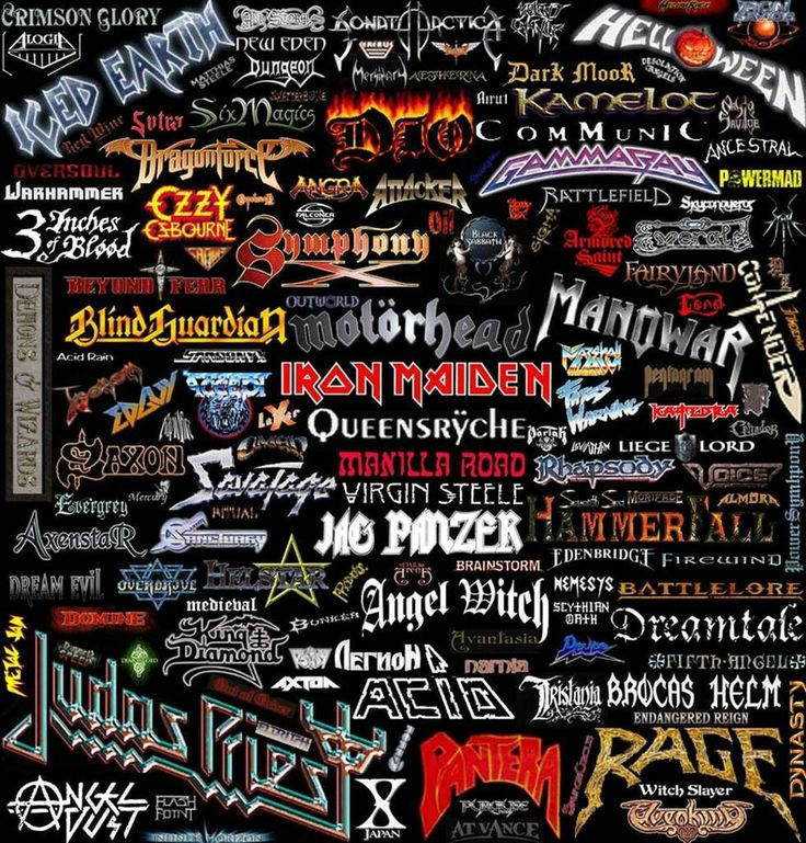 Metal Rules! | Rap metal, Metal bands list, Heavy metal