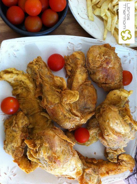 pollo estilo kentucky con Thermomix