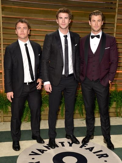 Luke Hemsworth, Liam Hemsworth & Chris Hemsworth