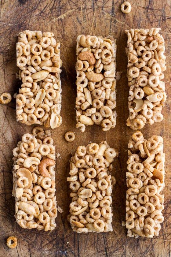 Honey Nut Cheerio Bars   halfbakedharvest.com