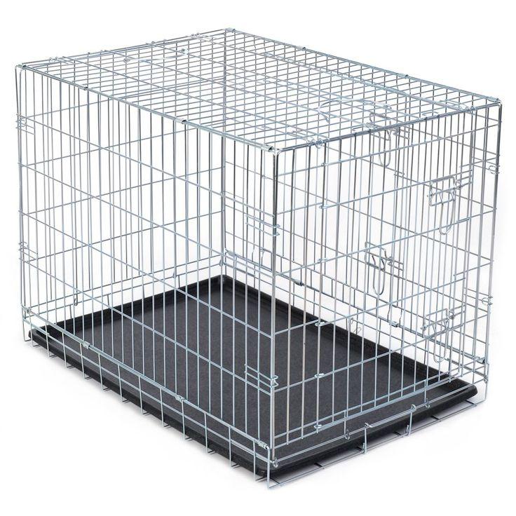 Animalerie  Cage de transport pour chien  L 109 x l 71 x H 79 cm