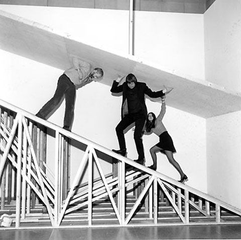 """Robert Morris's 1971 installation of raw unfinished materials titled """"Neo Classic"""" was originally shown at what was then known as the Tate Britain. It was abruptly closed after 4 days. Reportedly the gallery staff were """"not able to cope with the frantic means of emotional release that the exhibition became … pandemonium broke out"""""""