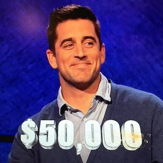 celebrity champ Aaron Rodgers