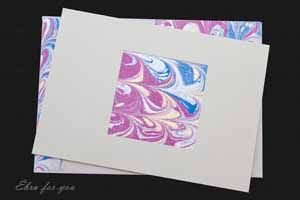 Ebru For You| Gallery Hand-Made Gift Cards