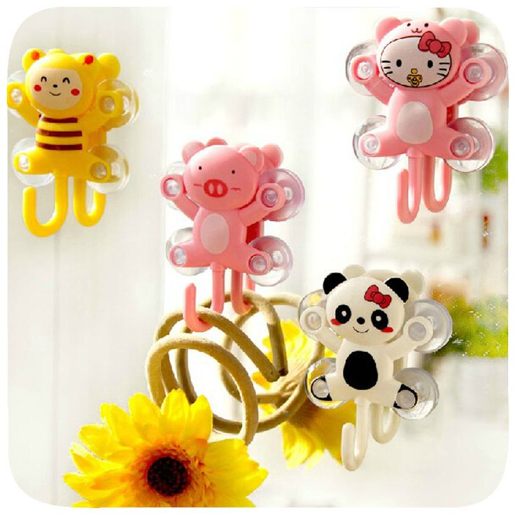 >> Click to Buy << Cute cartoon small stupid sucker Use strong glue hook  suction cups hooks # PT #Affiliate