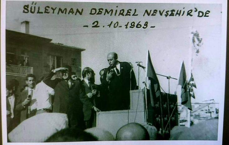 Süleyman Demirel Nevşehir'de – 1969