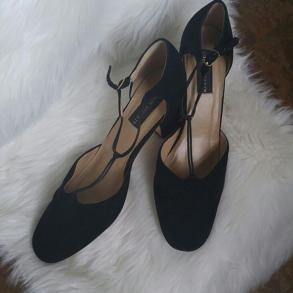 Classy Colin Stuart. T-Straps Great conditon. Genuine suede heels. 3 inch heel. These are classic and a great addition to any wardrobe. Dont miss out. Colin Stuart Shoes Heels