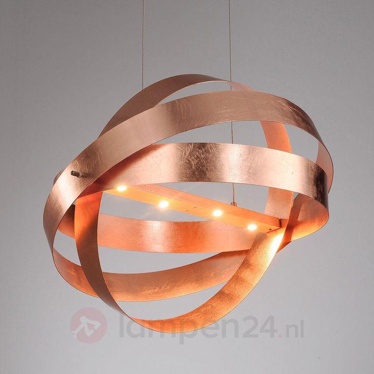 Afwerking in antiek koper - LED hanglamp Cara 6722122